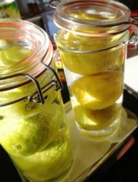 Rezept: Oma Rita Salz Zitrone