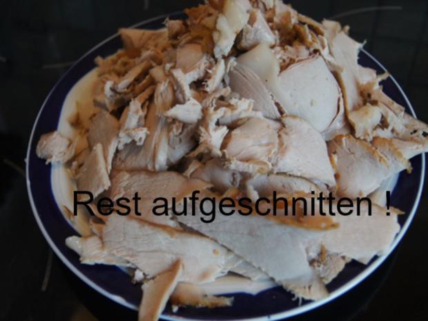 Schinken-Krustenbraten mit Sauce, Spargel und Frühkartoffeln - Rezept - Bild Nr. 8200