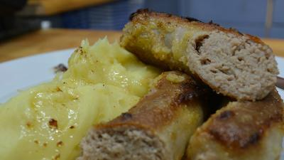 Schlesische Bratwurst ~ Schlesische Weißwurst - Rezept - Bild Nr. 8178