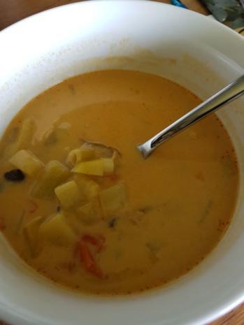 Asiatische Gemüse-Kokos-Suppe - Rezept - Bild Nr. 8178