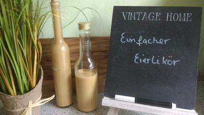 Einfacher Eierlikör - Rezept - Bild Nr. 2