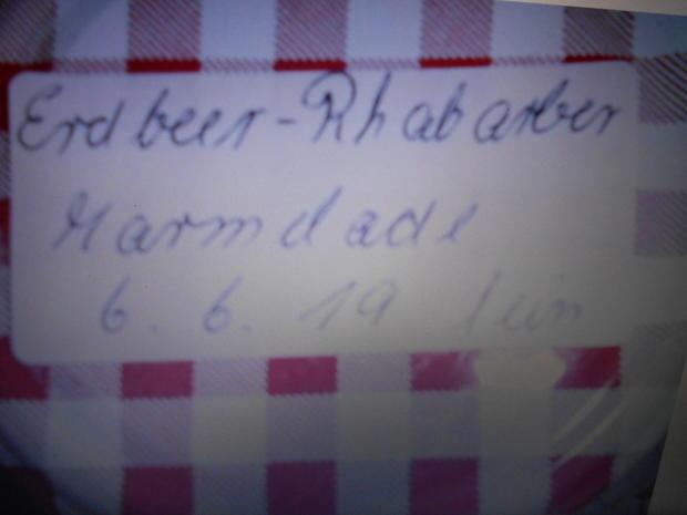 Erbeere- Rhabarber - Marmelade - Rezept - Bild Nr. 8208