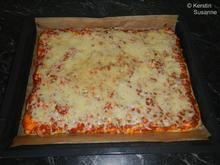 Pizza Bolognese - Rezept - Bild Nr. 8202