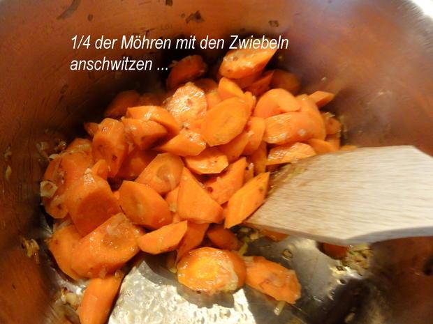 Gemüse:   MÖHRENEINTOPF  der besonderen Art - Rezept - Bild Nr. 8