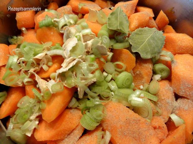 Gemüse:   MÖHRENEINTOPF  der besonderen Art - Rezept - Bild Nr. 10