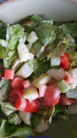 Biggi`s Salate = Kartoffelsalat Update 1.0 ( mit 6er Dressing) - Rezept - Bild Nr. 8223