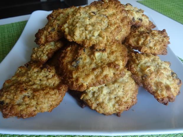 Apfel-Cranberry-Cookies - Rezept - Bild Nr. 8225