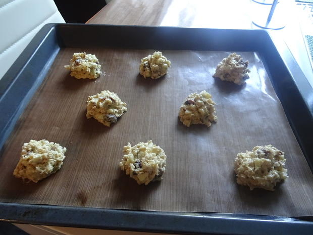 Apfel-Cranberry-Cookies - Rezept - Bild Nr. 8226