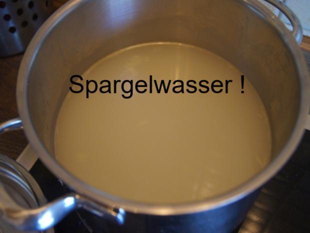 Eine sehr, sehr schnelle Spargel-Cremesuppe - Rezept - Bild Nr. 5