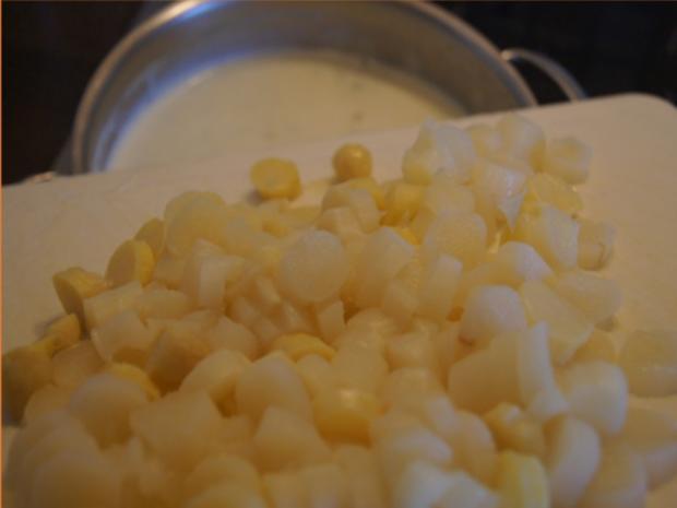 Eine sehr, sehr schnelle Spargel-Cremesuppe - Rezept - Bild Nr. 9