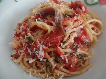 """Spaghetti All""""Arrabbiata - Rezept - Bild Nr. 8244"""