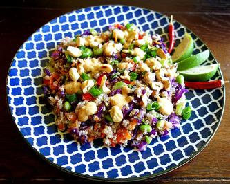 Quinoa Salat im Asia Style - Rezept - Bild Nr. 8244