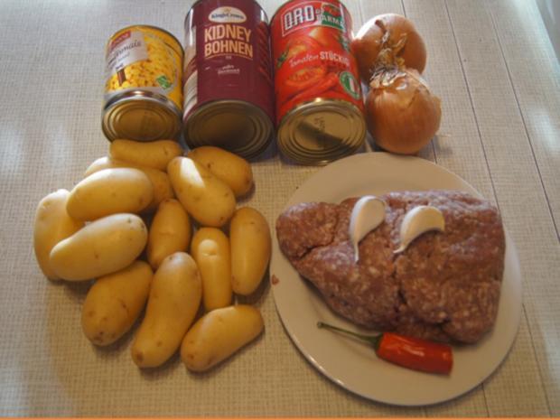 Schnelles Chili mit Kartoffeln - Rezept - Bild Nr. 3