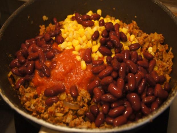 Schnelles Chili mit Kartoffeln - Rezept - Bild Nr. 12