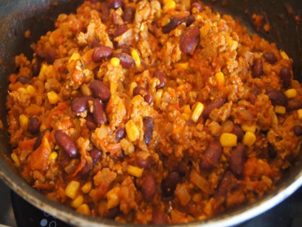 Schnelles Chili mit Kartoffeln - Rezept - Bild Nr. 15