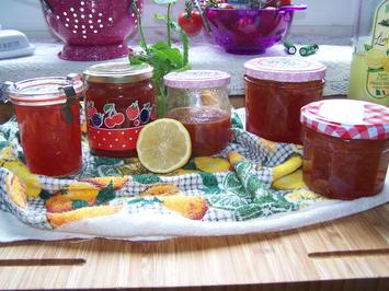 Erbeeren -Orangen Marmelade - Rezept - Bild Nr. 8256
