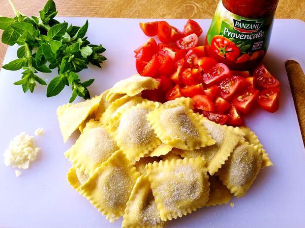 Ravioli in Tomaten - Rezept - Bild Nr. 8259