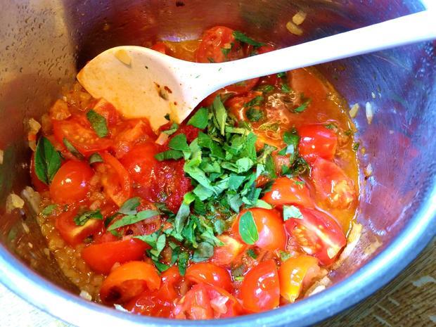 Ravioli in Tomaten - Rezept - Bild Nr. 8260