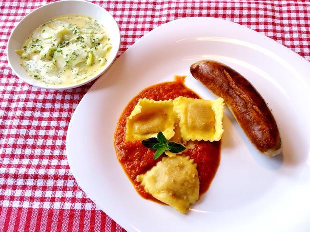 Ravioli in Tomaten - Rezept - Bild Nr. 8263