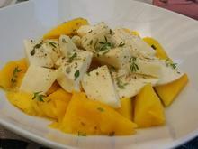 Mango - Mozzarella - Salat - Rezept - Bild Nr. 8260