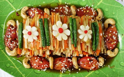 Rezept: Süß-scharfer Rettich mit Karotten
