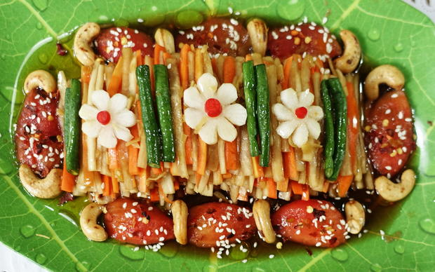 Süß-scharfer Rettich mit Karotten - Rezept - Bild Nr. 8260