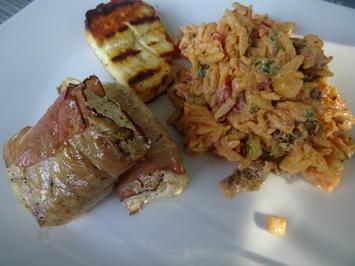 Rezept: Kritharaki-Salat mit Dorsch vom Grill