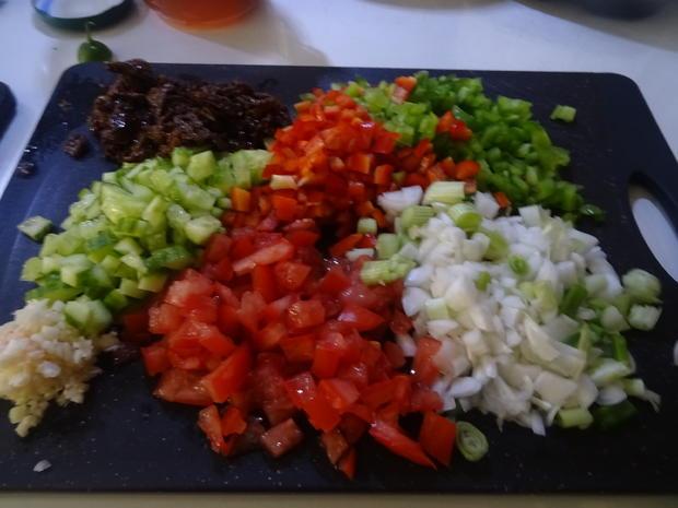 Kritharaki-Salat mit Dorsch vom Grill - Rezept - Bild Nr. 8266