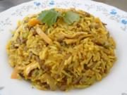Gebratener gelber Reis im Wok - Rezept - Bild Nr. 8260