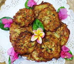 Rezept: Exotisch-würzige Gemüsepuffer mit Erdnüssen – Martabak ala Ampenan