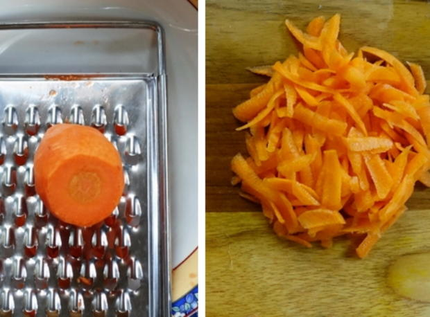 Exotisch-würzige Gemüsepuffer mit Erdnüssen – Martabak ala Ampenan - Rezept - Bild Nr. 8261