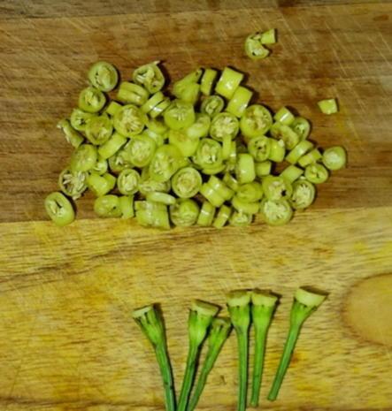 Exotisch-würzige Gemüsepuffer mit Erdnüssen – Martabak ala Ampenan - Rezept - Bild Nr. 8272