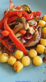 Biggi`s Gemüse = Gemüseplatte mit Kartoffelperlen (auch kalt zu Essen) - Rezept - Bild Nr. 8265
