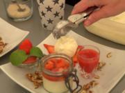Buttermilch – Erdbeere - Crunch - Rezept - Bild Nr. 8269