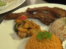 Lamm mit türkischem Reis und gemischter Gemüsepfanne - Rezept - Bild Nr. 2