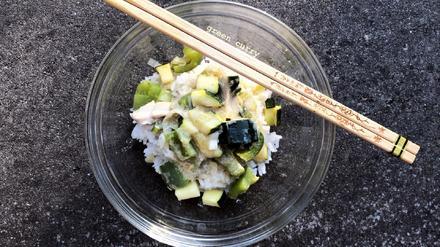 Grünes Hühnchen-Curry - Rezept - Bild Nr. 8283