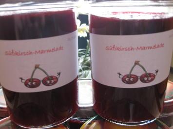 Kirschmarmelade aus Süßkirschen - Rezept - Bild Nr. 2