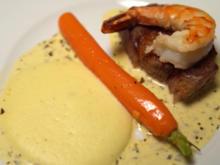 Kartoffelespuma und Café-de-Paris-Buttersoße - Rezept - Bild Nr. 2