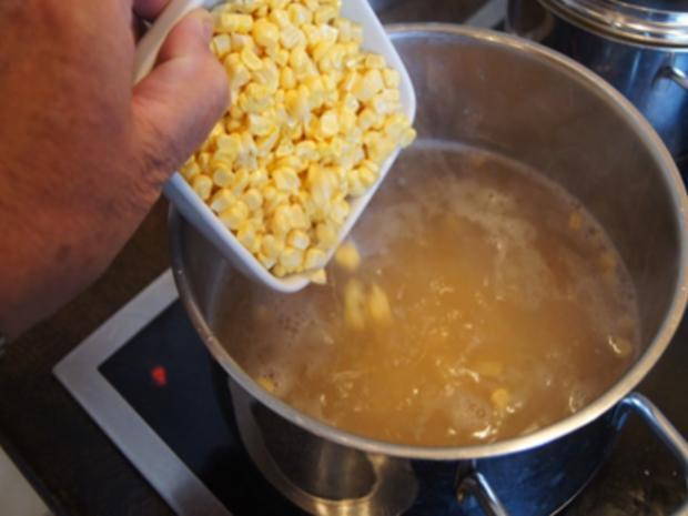 Asiatische-Mais-Garnelen-Suppe - Rezept - Bild Nr. 8302