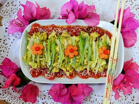 Tomaten mit Ei -- Xi Hong Shi Chao Dan - Rezept - Bild Nr. 8296