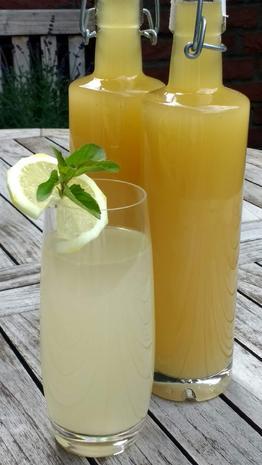 Limo - Sirup - Zitrone - Rezept - Bild Nr. 8297