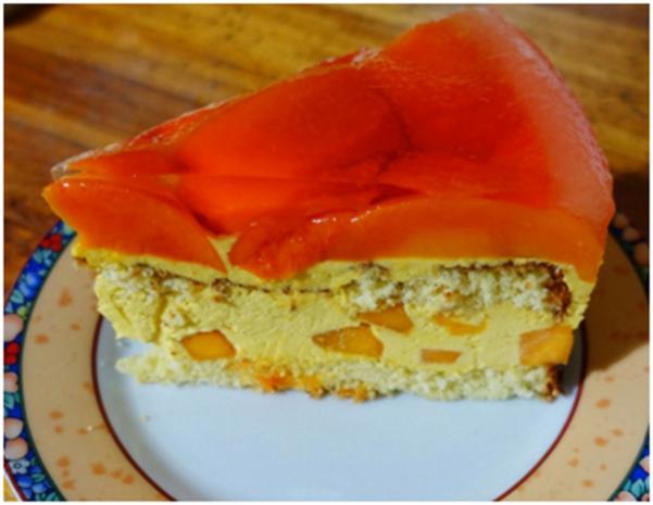 Geeiste Mango-Creme-Torte ala 'Delicio' - Rezept - Bild Nr. 8297