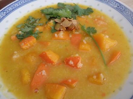 Reis-Kürbis-Suppe - Rezept - Bild Nr. 8303