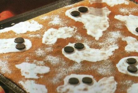 Halloween-Blechkuchen - Rezept