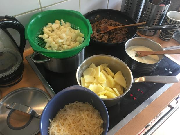 Kartoffel-Blumenkohl-Hackfleisch-Auflauf - Rezept - Bild Nr. 8305