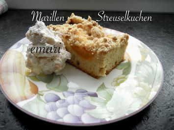 Marillen Streusel Kuchen - Rezept - Bild Nr. 8306