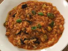 Auberginen-Zucchini-Risotto - Rezept - Bild Nr. 8315