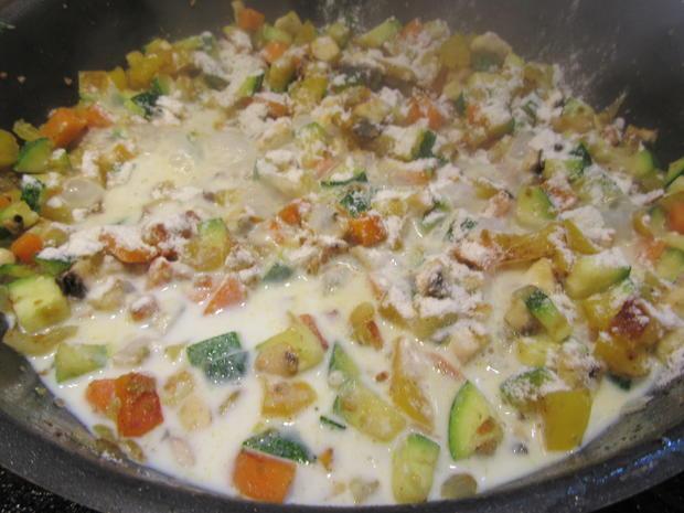 Pfannkuchen: Pfannkuchen-Gemüse-Lasagne - Rezept - Bild Nr. 8339