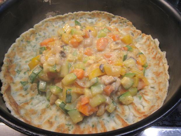 Pfannkuchen: Pfannkuchen-Gemüse-Lasagne - Rezept - Bild Nr. 8340