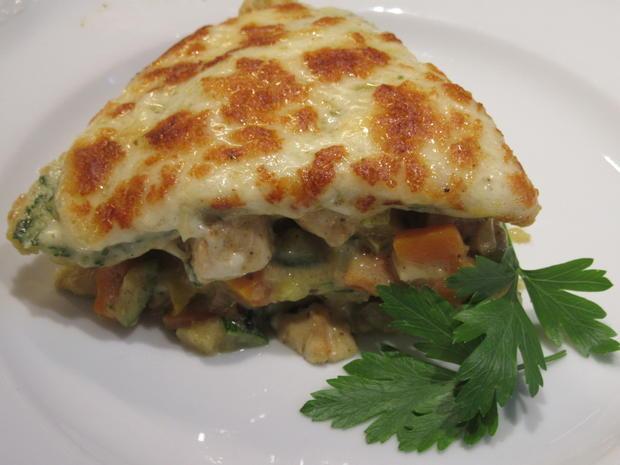 Pfannkuchen: Pfannkuchen-Gemüse-Lasagne - Rezept - Bild Nr. 8346